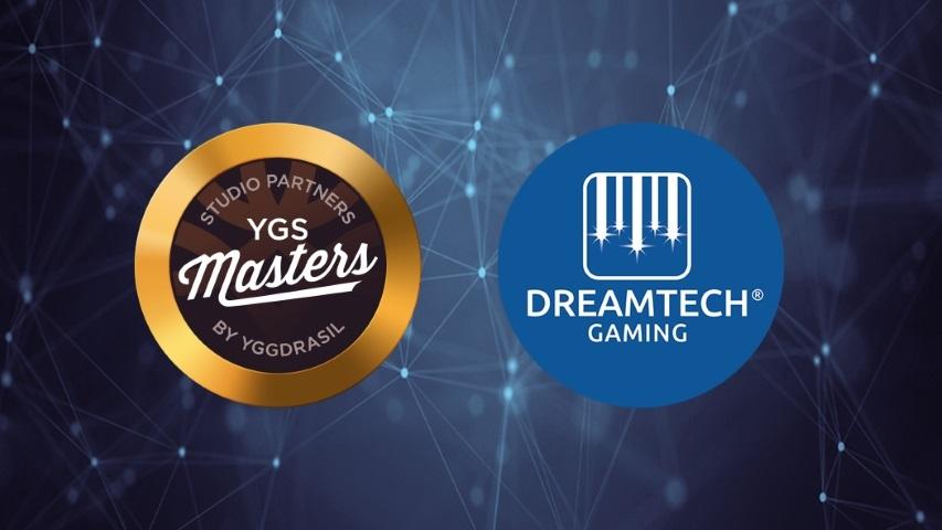 Dreamtech Gaming går med i Yggdrasils YGS Masters
