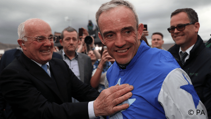 Ruby Walsh: Nothing Ever Bettered Papillon