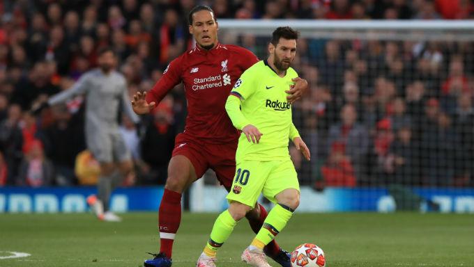 Virgil van Dijk Leapfrogs Lionel Messi As Favourite for Ballon d'Or