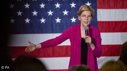 Elizabeth Warren campaigning