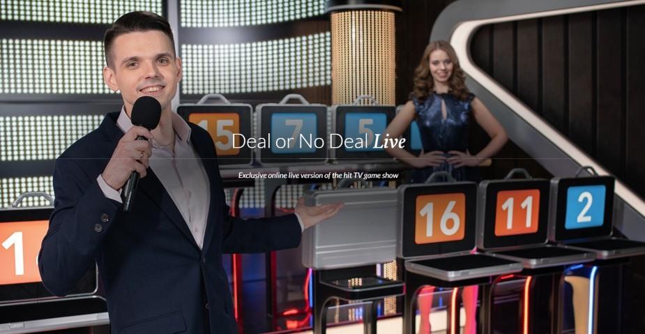 Deal or No Deal - från underhållningsprogram till live spel