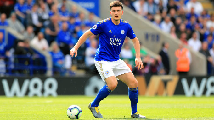 Man City Leading Man Utd in Harry Maguire Transfer Odds