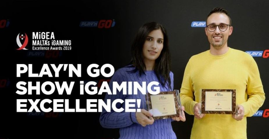 Play'n GO trefaldigt belönade på iGaming Excellence Awards