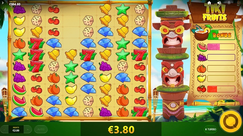 Tiki Fruits Red Tiger Gaming