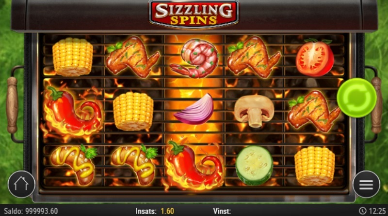 Sizzling Spins Playn GO