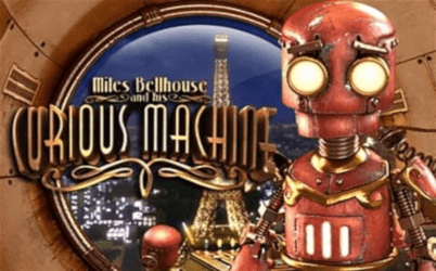Miles Bellhouse and his Curious Machine Online Slot