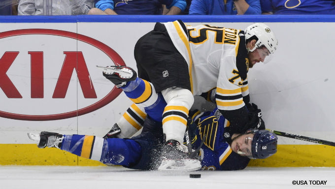 7 Great Prop Bets for Stanley Cup Final Bruins-Blues Game 7