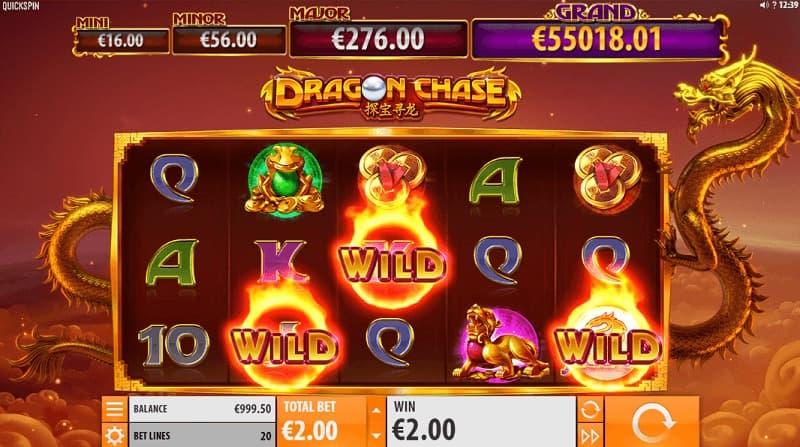 Dragon Chase spelautomat