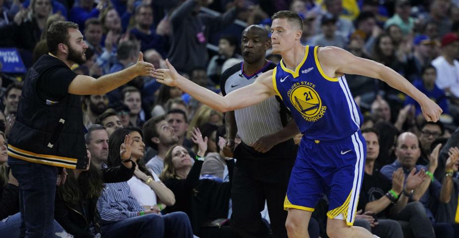 Jonas Jerebko hoppas hjälpa Golden State Warriors till vinst