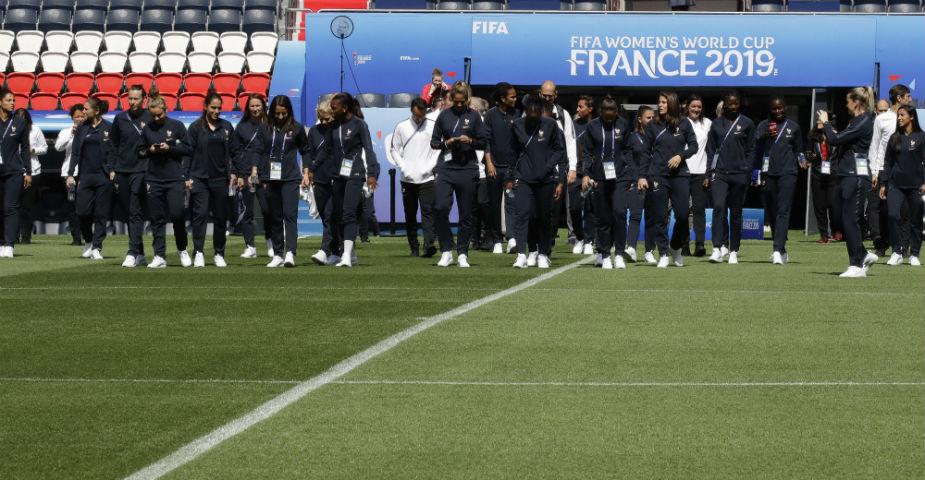Frankrike premiärspelar mot Sydkorea i dam-VM 2019