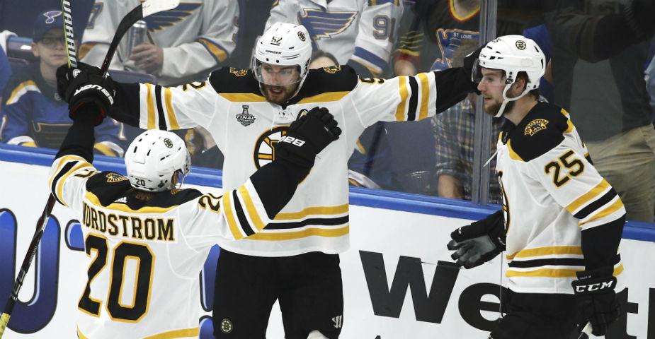 Boston Bruins och St Louis Blues gör upp i avgörande final