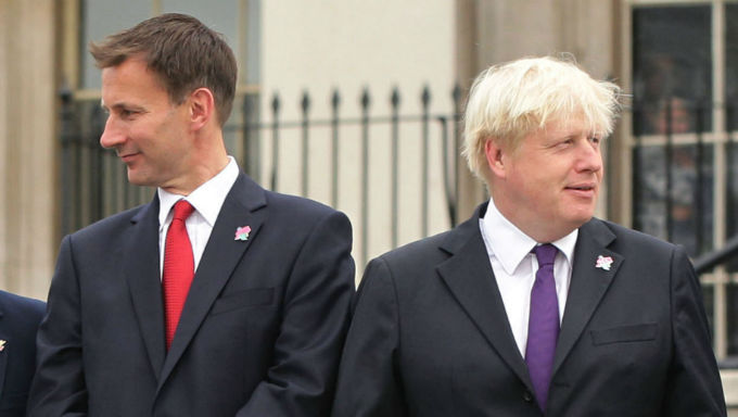 Boris Johnson Overwhelming Favourite Over Jeremy Hunt For PM