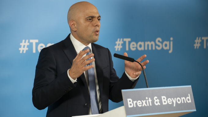 Sajid Javid Now Joint-Favourite to be UK's Next Chancellor