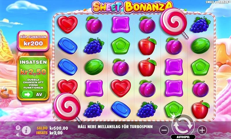 Nya funktionstäta slots: Wild Robo Factory och Sweet Bonanza