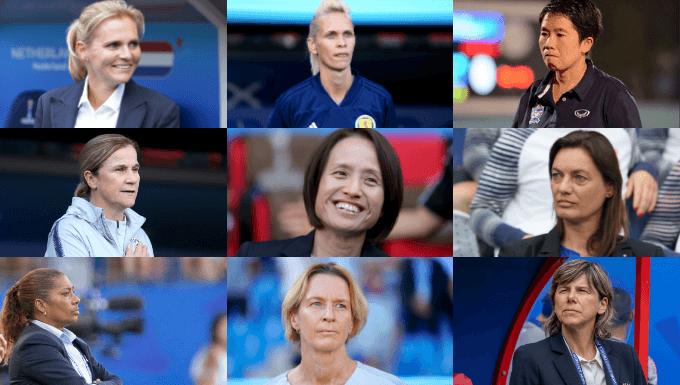 Female international coaches