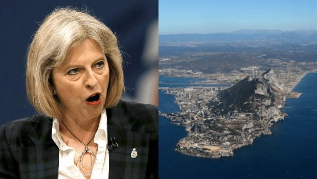 Prime Minister May Vows To Keep Gibraltar Under British Control