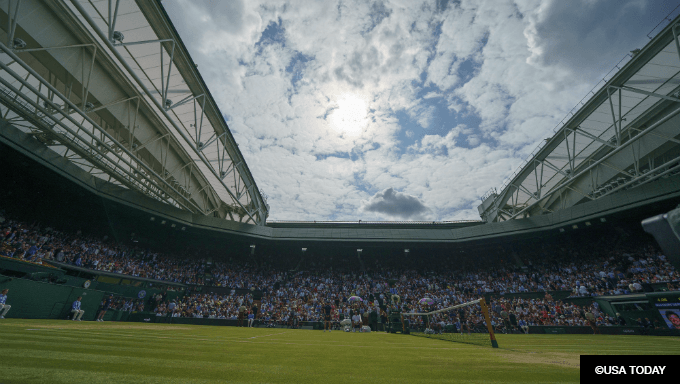 DraftKings Sees Most Tennis Betting Ever for Wimbledon Final
