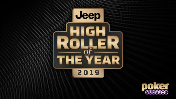 Jeep and Poker Central Link Up For New High Roller Award