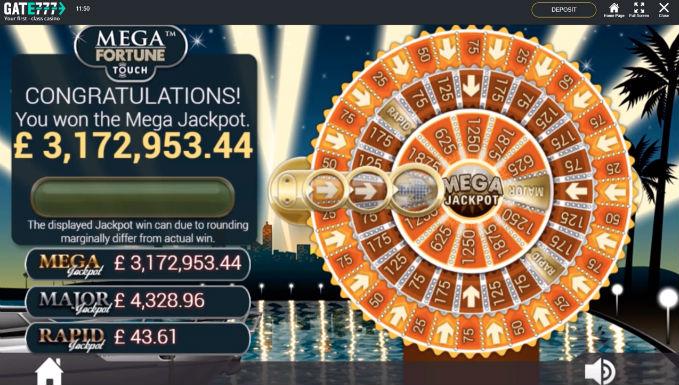 Gate777 Player Hits €3.3m Jackpot On Mega Fortune Slot