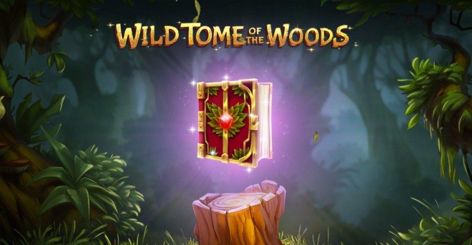 Magisk nyhet från Quickspin: Wild Tome of the Woods