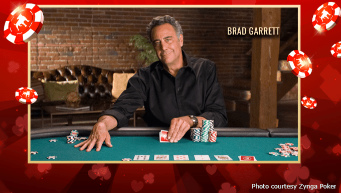 Actor Brad Garrett Hosts 'Celebrity Home Game' Poker Event