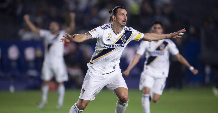 Zlatans LA Galaxy på väg mot slutspel i MLS