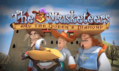 The Three Musketeers and the Queen's Diamond Slot Review