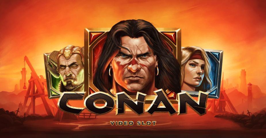 Conan: nu släpper NetEnt spelautomat om Conan Barbaren