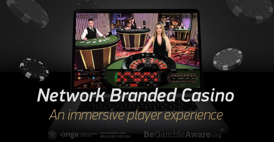 NetEnt lanserar ny livecasinolösning, Network Branded Casino