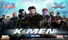 X-Men 50 Line Slot Sites