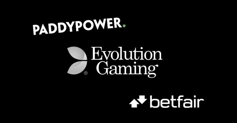 Evolution Gaming får Betfair och Paddy Power som nya kunder