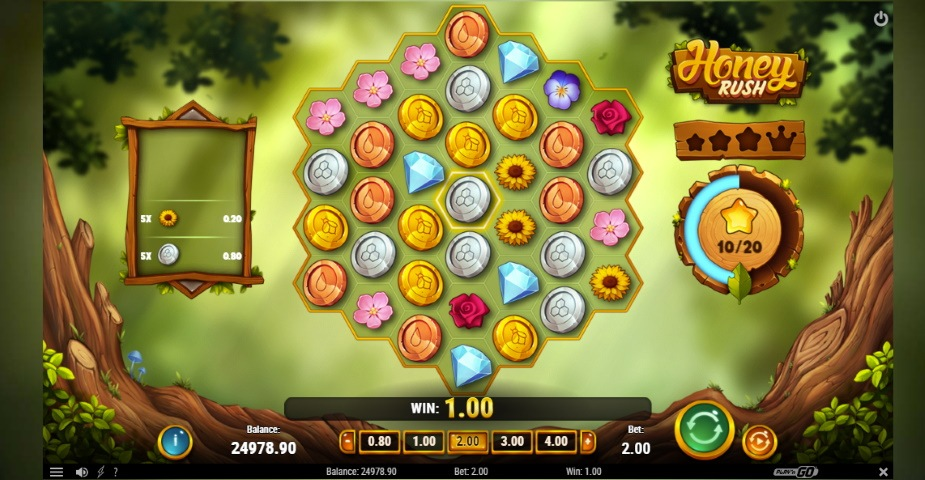 Honey Rush: ny slot från Play'n GO