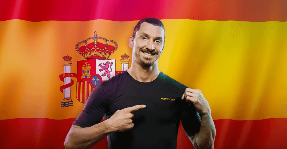 Zlatans spelbolag Bethard lanseras i Spanien