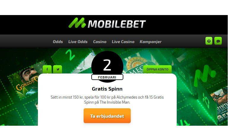 Dagliga presenter och trygg sms-betalning i samma casino