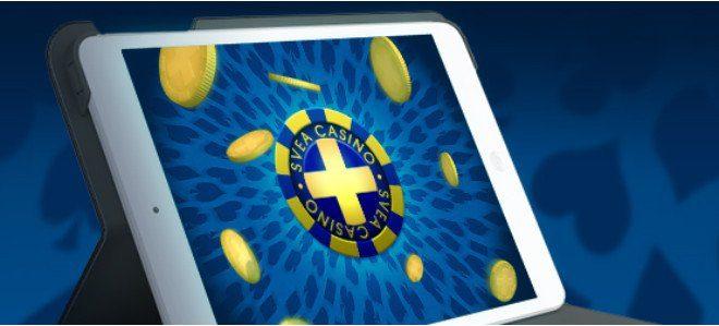 Helgens spel funkar utmärkt i Sveas casino för iPad