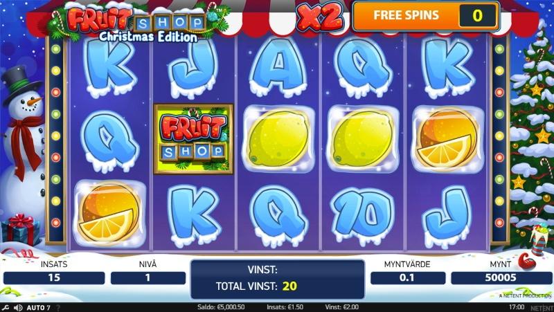 Juliga slots och bäst casinospel med jultema