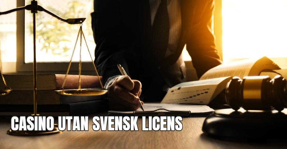 Casino utan svensk licens och Spelpaus - vad gäller?