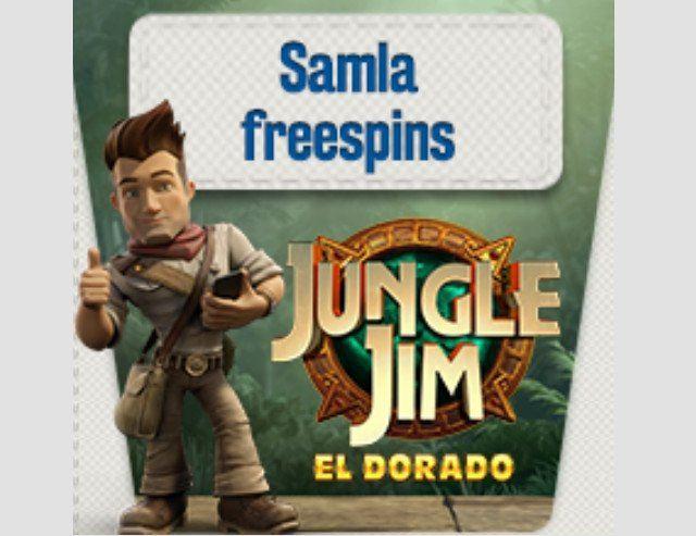 Chans att samla free spins till höstens spelnyhet Jungle Jim!