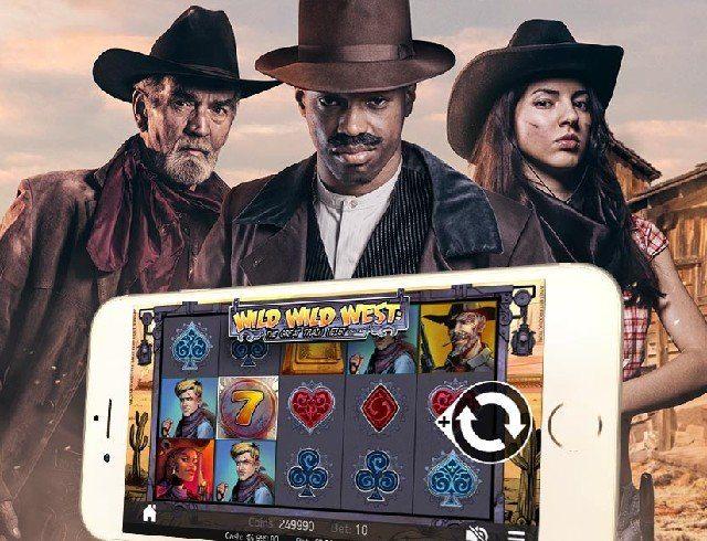 Casino för iPhone och Android bjuder på spins i vilda västern