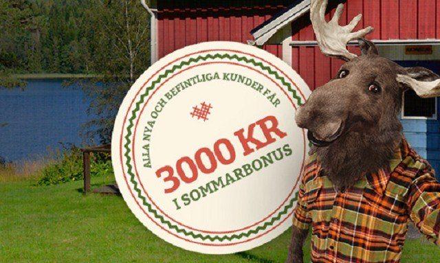 Casinostugan är ett av våra svenska mobilcasinon med bäst sommarbonus