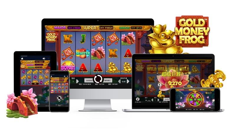 Gold Money Frog NetEnt slot mobilcasino
