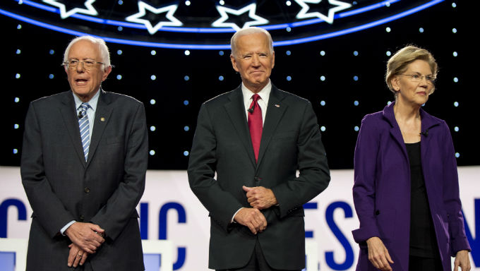 Joe Biden and Bernie Sanders Lead Democrat Nominee Betting