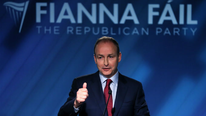 Fianna Fáil Now Have 75% Chance of Irish General Election Win