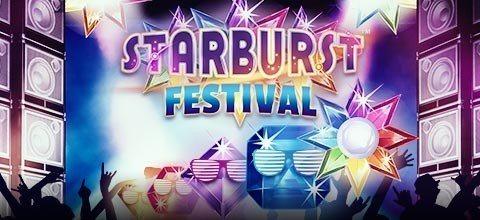Fortfarande stort värde i Starburst-festivalen hos Sveriges bästa mobilcasino