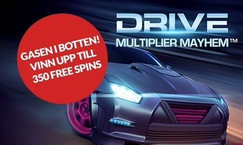 Free spins i mobilen och en dag i en Ferrari