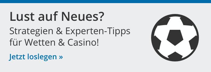 Strageien für Casino und Wetten