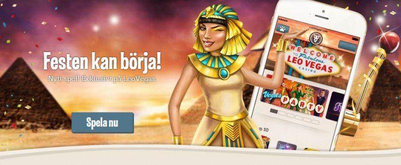 LeoVegas mobilcasino - mest spel av alla!