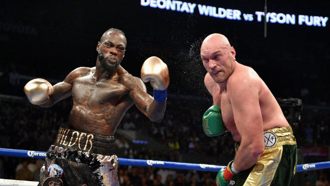 Deontay Wilder Now Favourite Over Tyson Fury in Fight Week