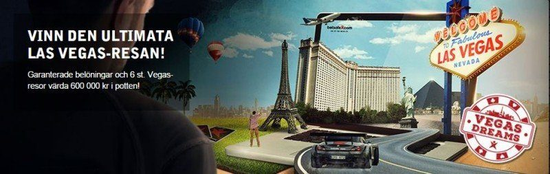 Full gas mot Vegas med Betsafe mobilcasino