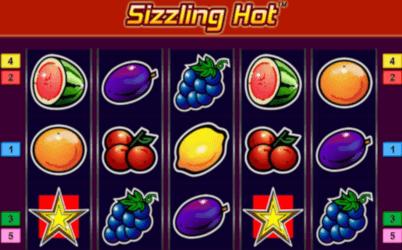 Sizzling Hot spilleautomat omtale